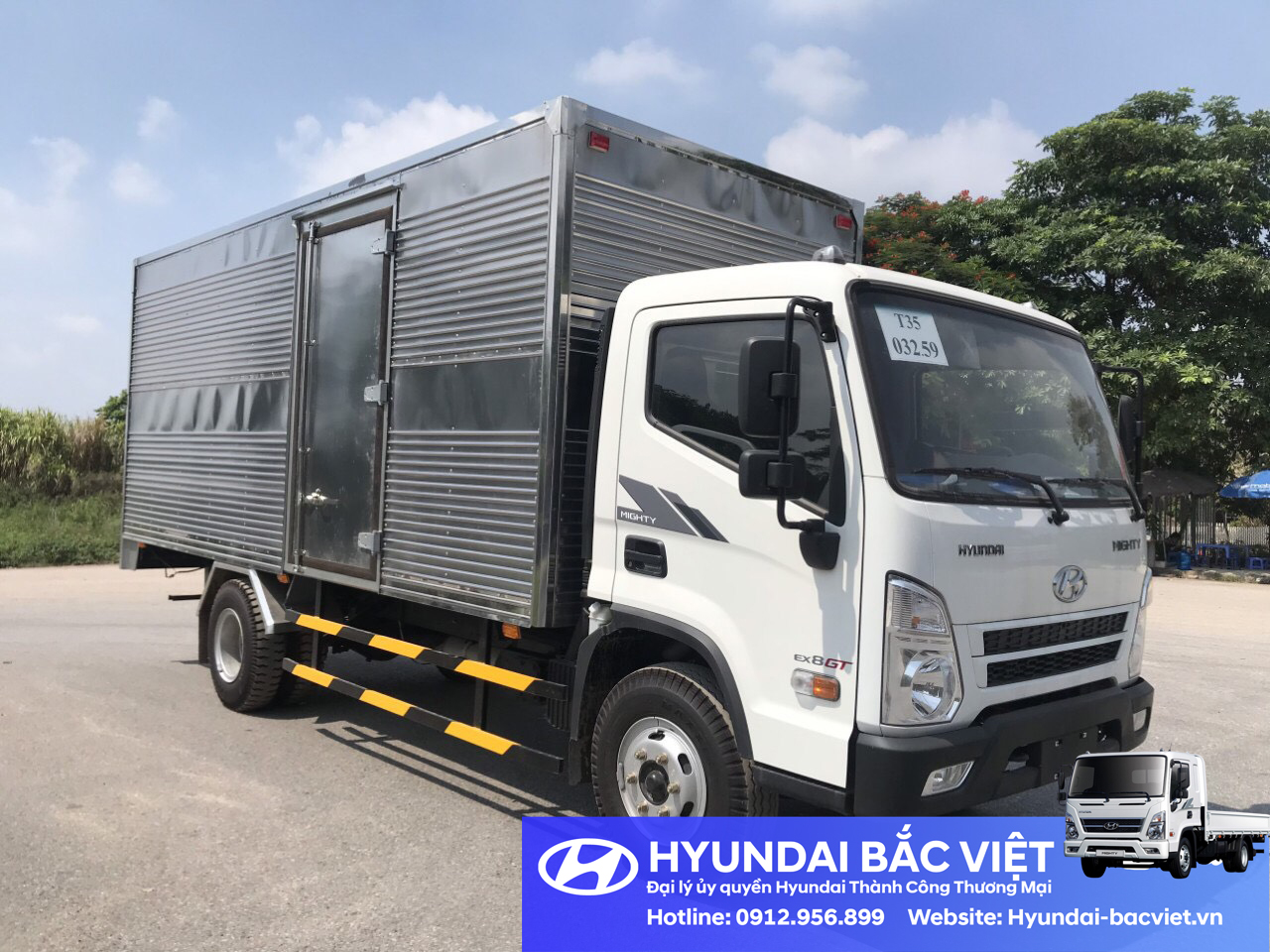 Hyundai EX8 Thùng Kín